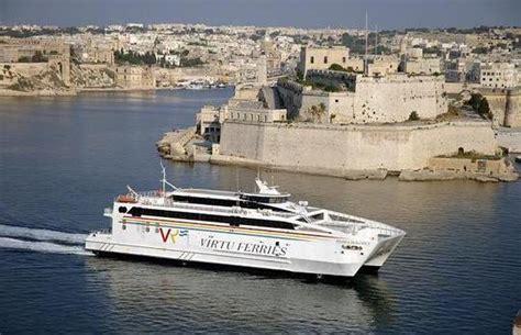 catamaran ferry malta virtu ferries offers sicilians med cruises from malta