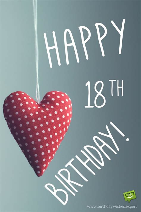 Happy 18th Birthday Wishes Entering Adulthood 18th Birthday Wishes