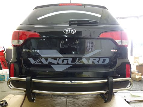 kia sorento bumper vanguard 14 15 sorento rear bumper protector grill guard