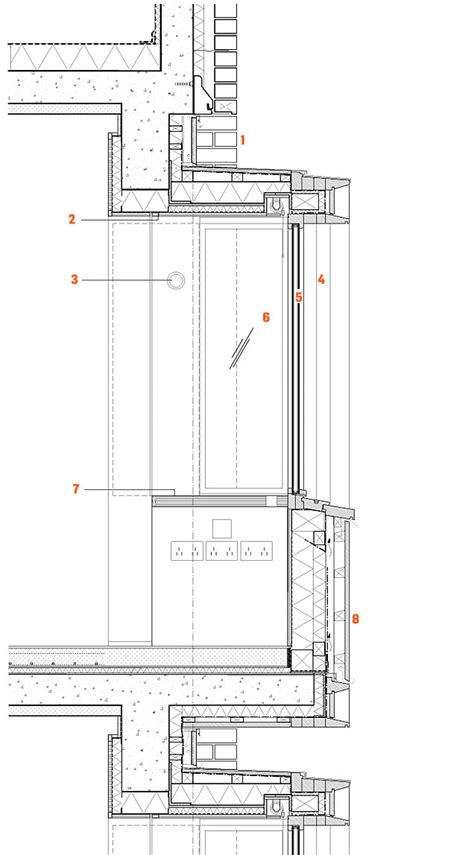 wall section detail drawing concrete wall section detail google search technical