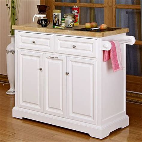 White Kitchen Island Cart by White Kitchen Cart With Black Granite Insert At Big Lots