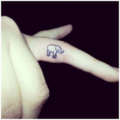 elephant tattoo on hand 99 powerful elephant designs with meaning