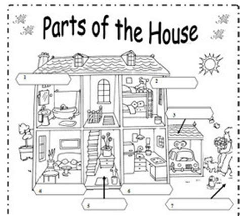 In The House Review by Maestra De Ingl 233 S Y Primaria Vocabulari