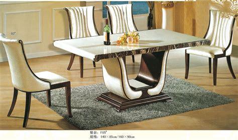luxury italian style furniture marble dining table 0442