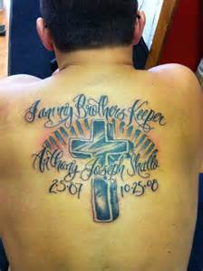 my brothers keeper tattoo picture