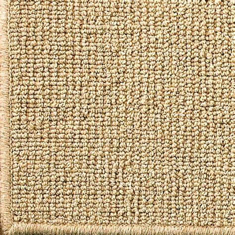sisal wool rugs wool sisal w serged binding rug available in 2 colors cork