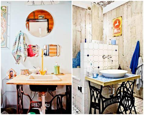 ideas faciles para coser a maquina mesas con maquinas de coser recicladas ideas para mesas