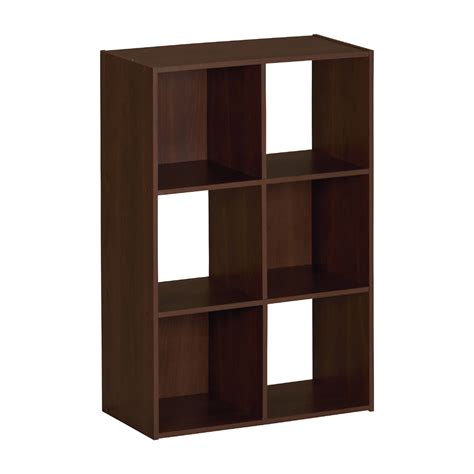 Cube Storage Shelves Ameriwood 6 Cube Storage Shelf 7641015p 7641026p 7641207p