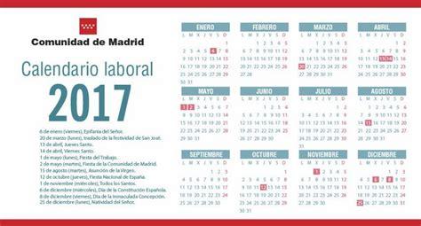 calendario laboral madrid    calendar