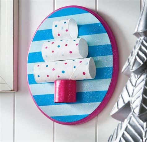 Large Paper For Crafts - toilet paper roll tree plaque craft allfreepapercrafts