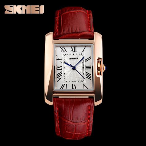 Skmei 1085 Fashion Leather Jam Tangan Wanita skmei jam tangan fashion wanita 1085cl jakartanotebook