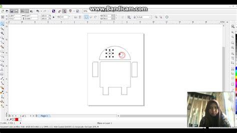 tutorial corel draw x6 membuat banner tutorial membuat logo android corel draw x6 youtube