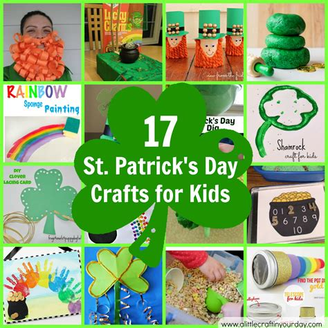 st s day crafts for st patricks day crafts photo album tree