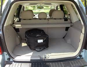 top ford escape cargo space dimensions images for
