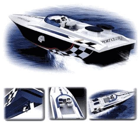 cigarette boats ep remote control cigarette boat style rc sport club