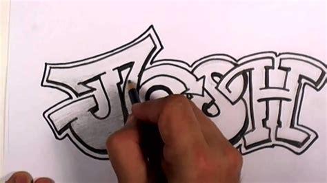 graffiti writing josh  design    names