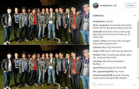 Helm Yg Dipake Alex Anak Jalanan Fans Bagikan Foto Geng Anak Jalanan Tanpa Stefan William