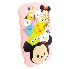 Piglet Pooh Tsum Tsum For Iphone 55s disney genuine tsum tsum pinocchio jiminy silicon for iphone 6 plus iphone cases