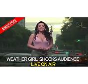 This Footage Of A Mexican Weather Girl Has Caused Storm