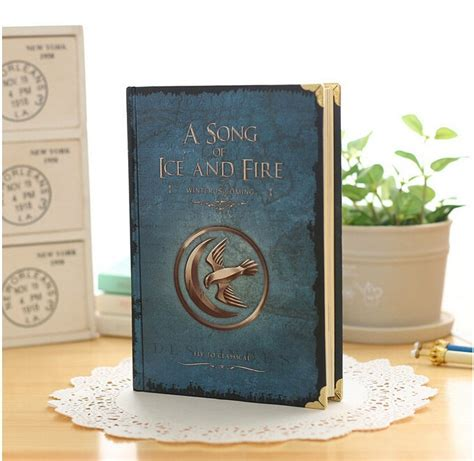 a song of ice and fire hardcover i got these from the uk game of thrones notebooks hardcover vintage paper all houses a song of ice and fire white walkers