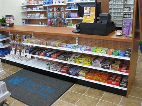 Countertops Stores by Gondola Checkout Counters Handy Store Fixtures