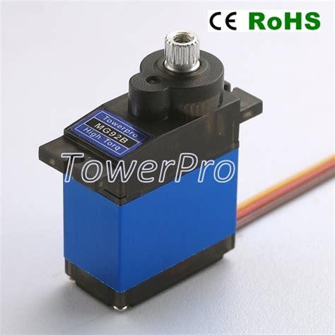 Tower Pro Servo Mg996r 360 Derajat mg92b robot servo 360 176 rotation tower pro