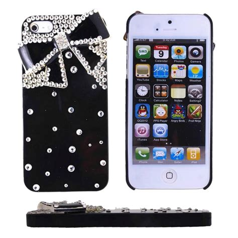 5 iphone cases iphone 5 5s 3d bling cover skin for apple g3