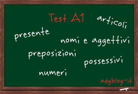 test livello italiano test di grammatica italiana per il livello a1 adgblog