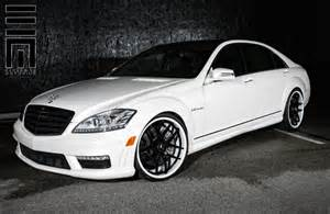 White Rims For Mercedes White Mercedes Black Rims