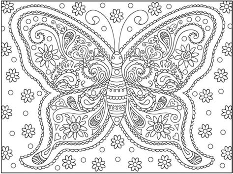 complicated coloring pages for adults pict 93972