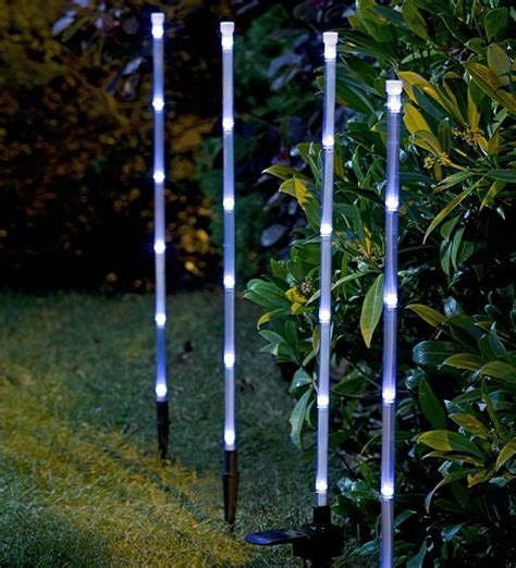 china solar bamboo stick christmas light for garden