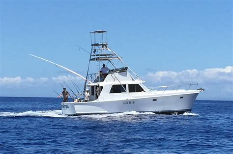 fishing boat maui sport fishing charters best boats top captains