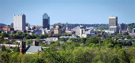 Of Worcester Mba by Leafy Downtown Worcester Ma 1400x650 Cityporn