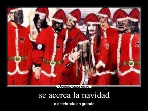 imagenes de navidad rock se acerca la navidad desmotivaciones