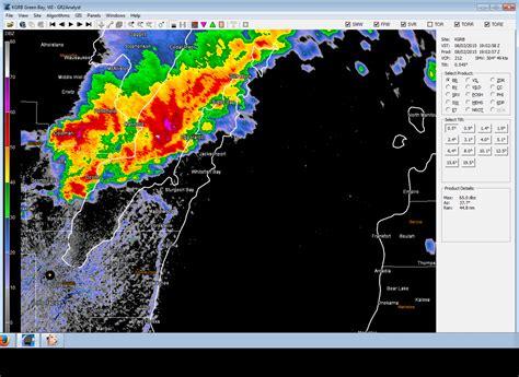 Door County Weather by Severe Storms Hit Northeast Wisconsin On August 2