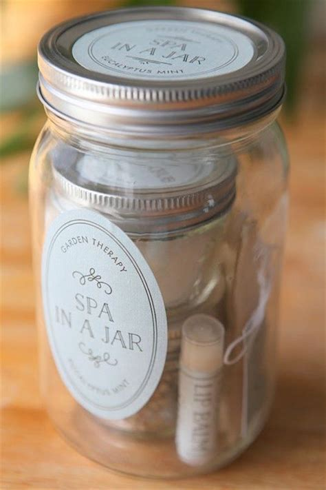 Of Handmade Gifts - spa gift in a jar 31 days of handmade gifts