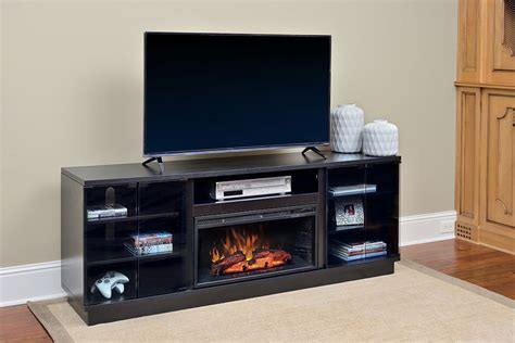 douglas infrared electric fireplace entertainment center