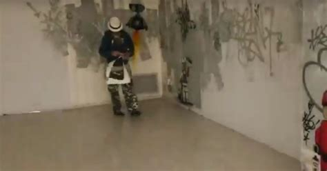 banksy unmasked secretive graffiti artist