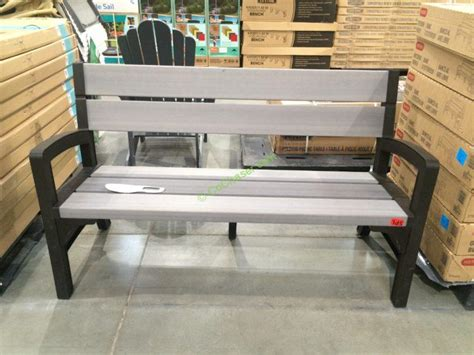 bench costco keter outdoor bench costcochaser