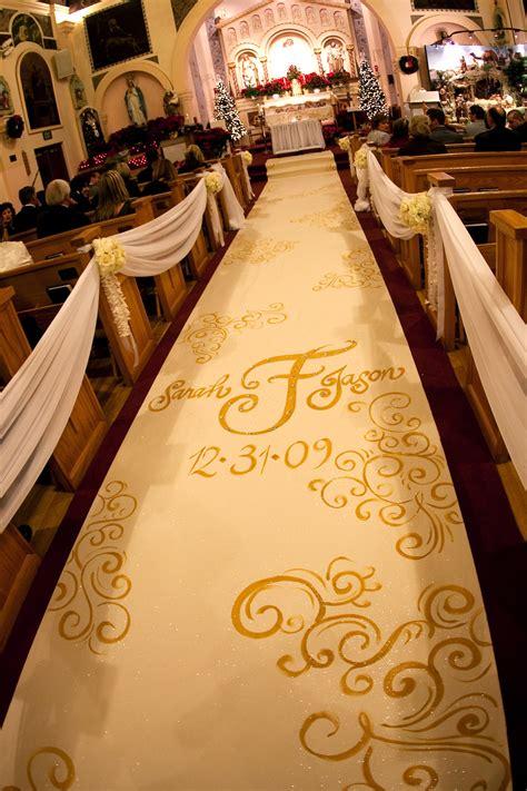 custom aisle runner designs   wedding ceremony