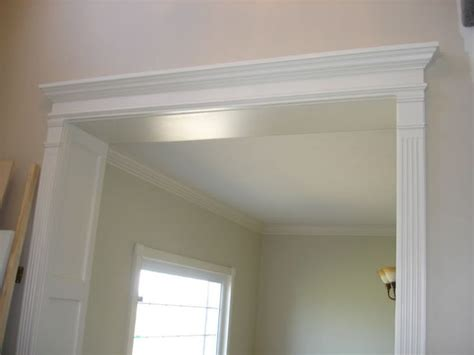 How To Trim A Door Opening by What Do You Think Of The Fluted Trim Crown Molding