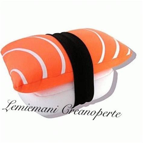 cuscini sushi cuscino sushi fatto a mano handmade nigiri idea regalo san