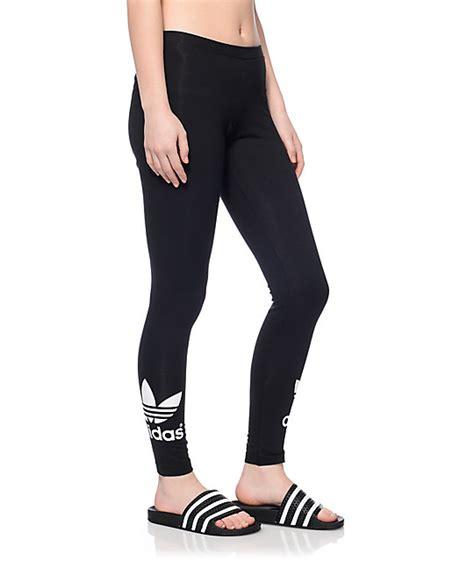 adidas legging adidas trf black leggings zumiez