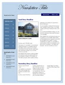 real estate newsletters templates free real estate newsletter template newsletter