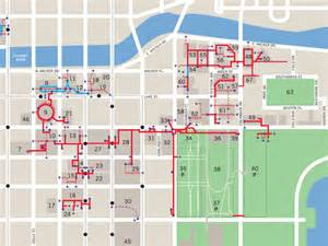 chicago pedway map for the pedway tour guide wants underground