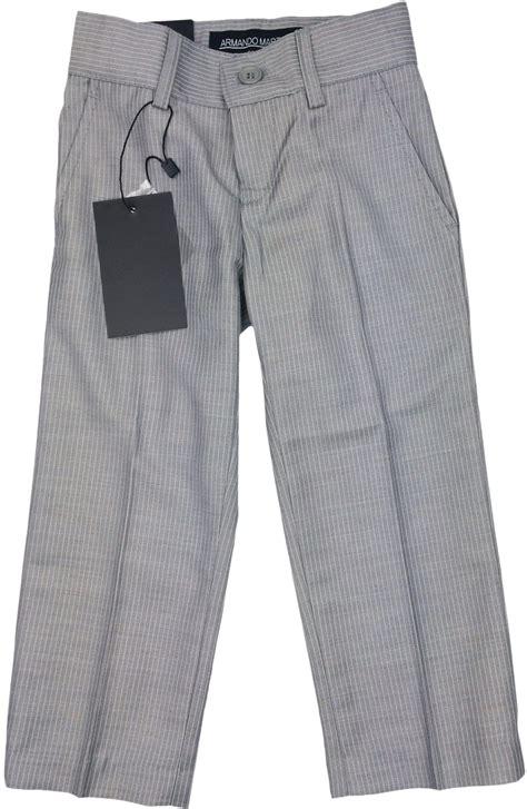 boys light grey dress armando martillo boys light gray pinstripe slim fit dress