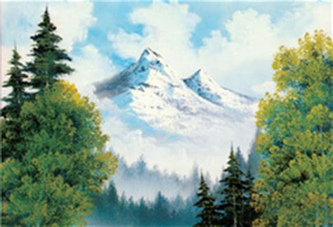 bob ross painting easy donna dewberry create tv