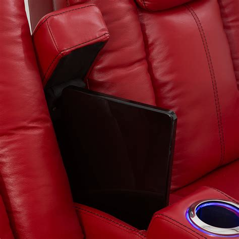 home theater seating power recline seatcraft delta leather home theater seating power
