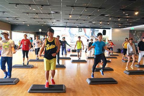 zumba steps at home celebrity fitness malaysia launched the new zumba step and
