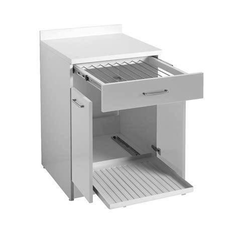 mobile con tavolo estraibile mobile con stendino estraibile 60x60x86 wash